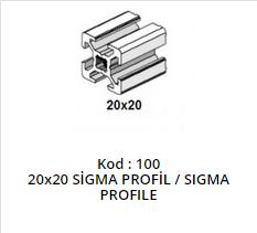 20x20 Sigma Profile
