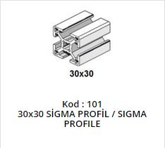 30x30 Sigma Profile
