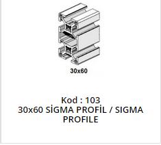30x60 Sigma Profile