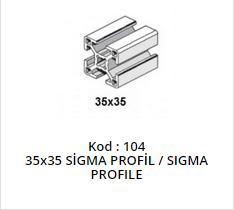 35x35 Sigma Profile