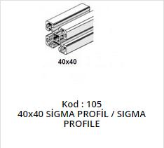 40x40 Sigma Profile