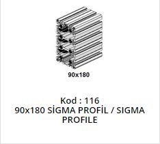 90x180 Sigma Profile