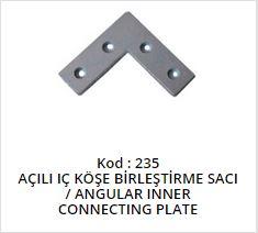Angular Inner Connecting Plate