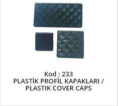 Plastic Cover Caps
