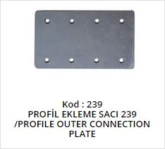 Profile Outer Connection Plate