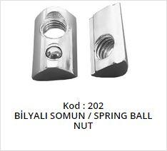 Spring Ball Nut