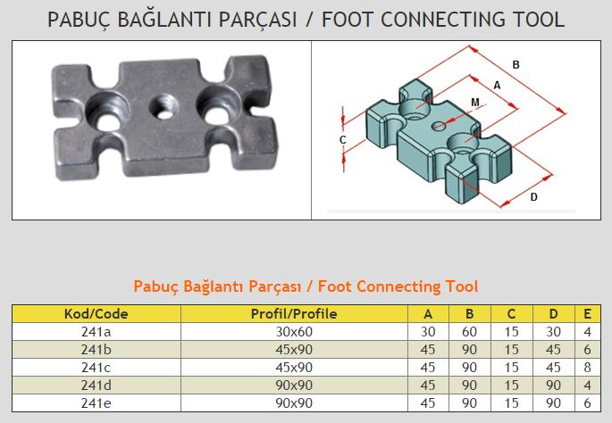 Foot Connecting Tool