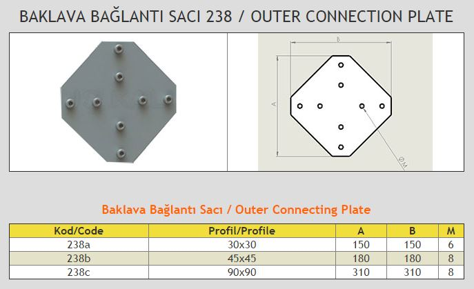 Outer Connecting Plate