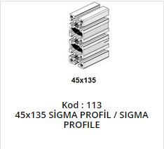 45x135 Sigma Profile