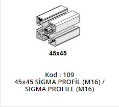 45x45 Sigma Profile M16