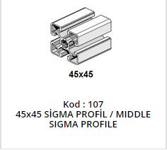 45x45 Sigma Profile Middle