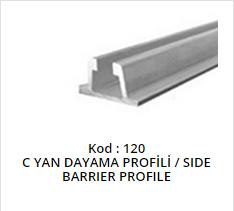 Side Barrier Profile